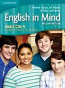 English in Mind 4 (2nd Edition): Audio CDs (4)