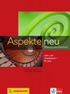 Aspekte neu B1 plus - учебник и тетрадка по немски език + Audio-CD (част 2)