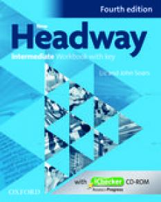New Headway Intermediate B1 Workbook - учебна тетрадка по английски език - iChecker with Key