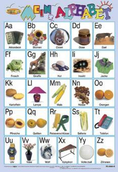 Mein Alphabet - учебно табло