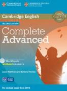 Complete Advanced - Workbook + Audio CD (Second Edition) with ans.