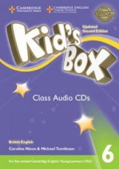 Kid`s Box Updated 2nd edition - комплект от 4 диска ниво 6