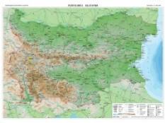 Uchenicheska Karta Na Blgariya Dvustranna Mashab 1 1 000 000 Domino