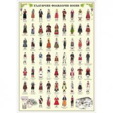 Образователно табло - Български фолклорни носии