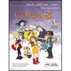 Colega 3: учебник, тетрадка и аудио CD
