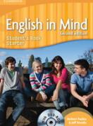 Учебник по английски език: English in Mind Starter (2nd Edition) Student`s Book with DVD-ROM