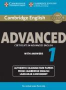 Cambridge Certificate in Advanced English for updated exam: CAE 1 Student`s Book with answers