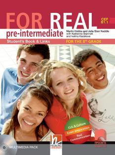 FOR REAL (B1.1) - учебник по английски език за 8. интезивен клас